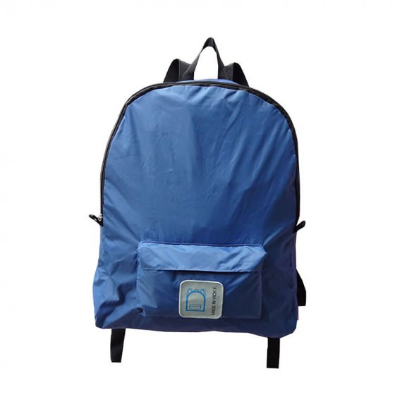 Foldable Backpack in Blue