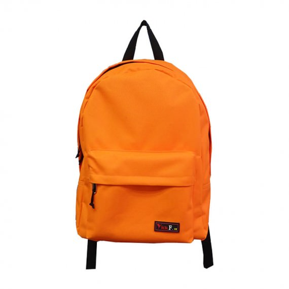 Simple Backpack in Orange Color