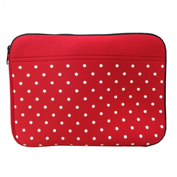 10 laptop sleeve with dot printing