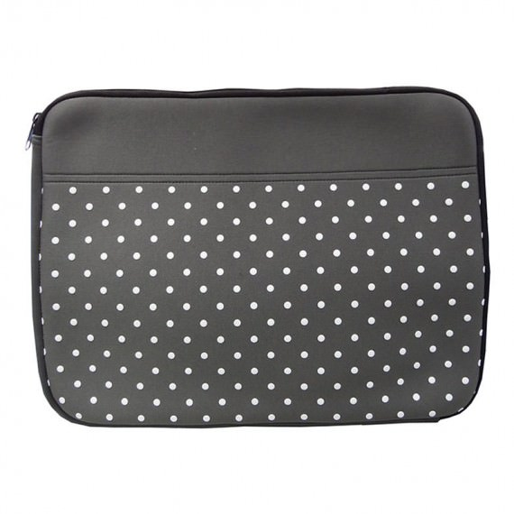 15 Laptop Sleeve with Dot Printing