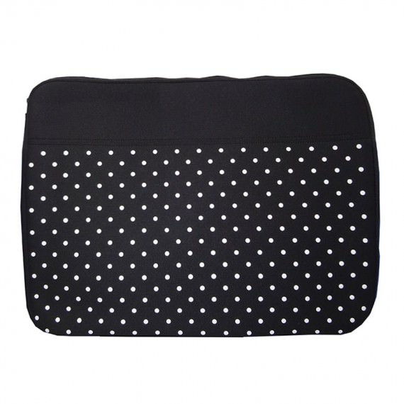 17 laptop sleeve with dot printing