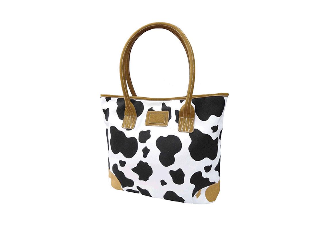 Cow Pattern Tote Bag