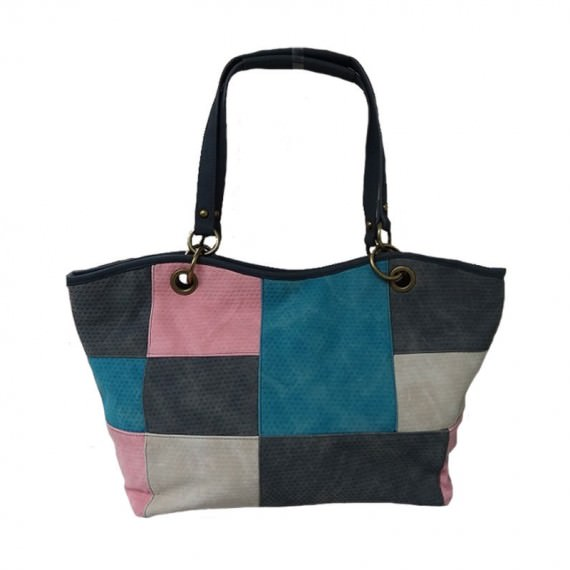 Mondrian Pattern Tote Bag