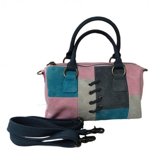 Mondrian Inspired Boston Bag