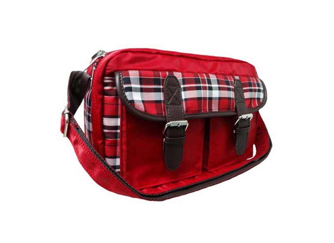 Plaid Shoulder Bag