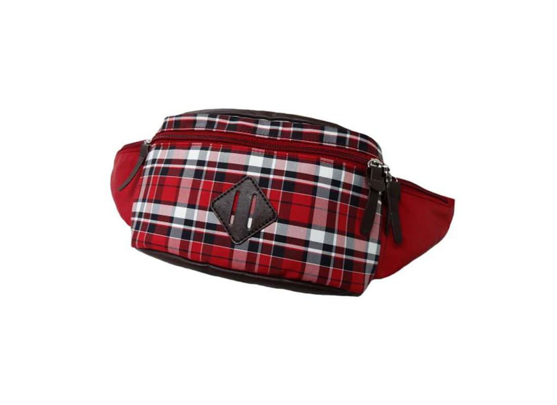 Plaid Waist Bag