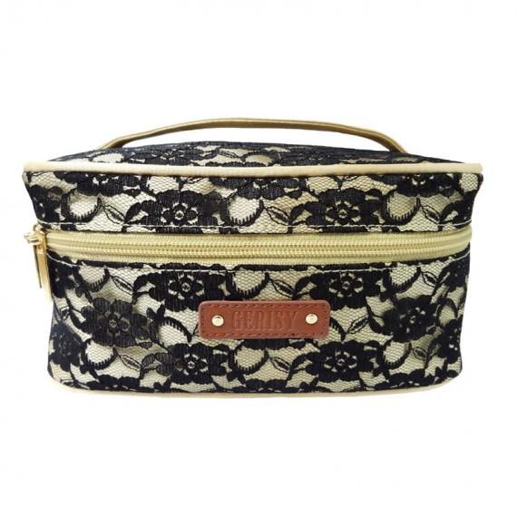 Black Lace Bag Cosmetic bag