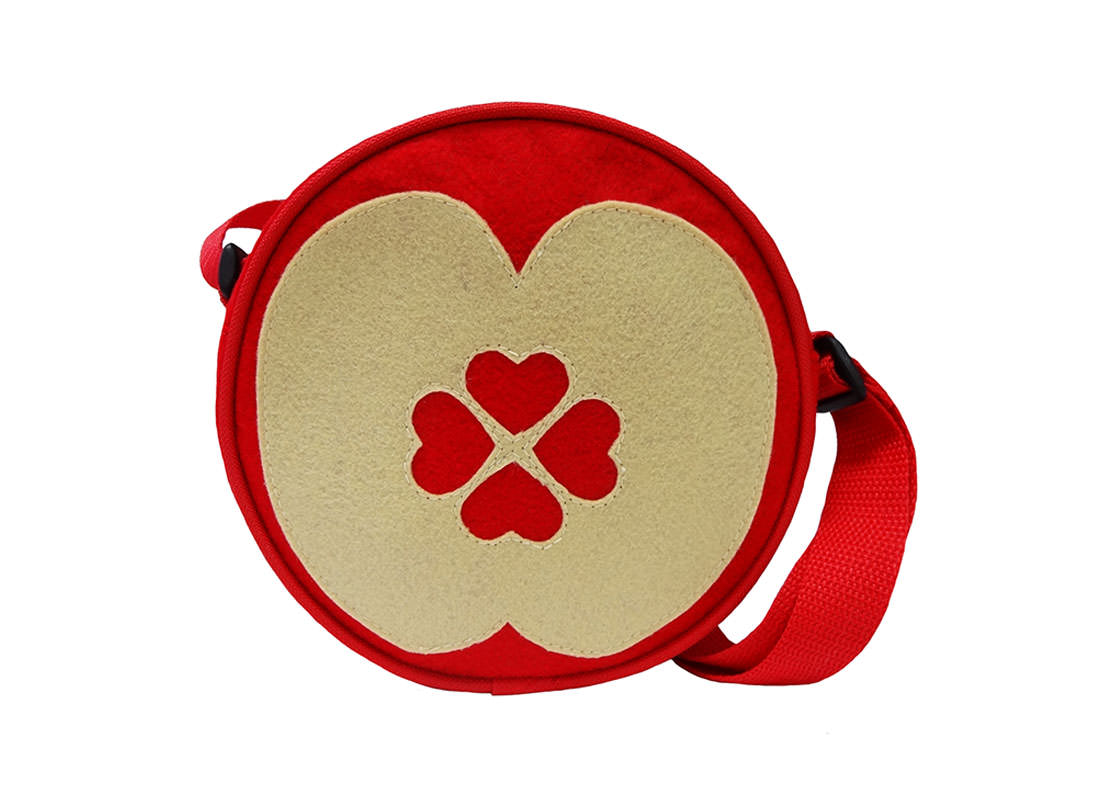 Apple Shoulder Bag for Children