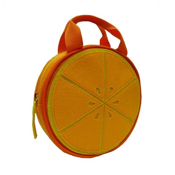 Orange Handbag for Children