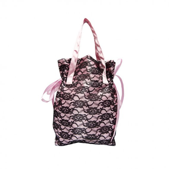 small drawstring bag with handle