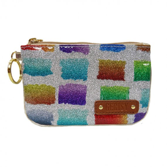 Colorful Glitter Zipper pouch