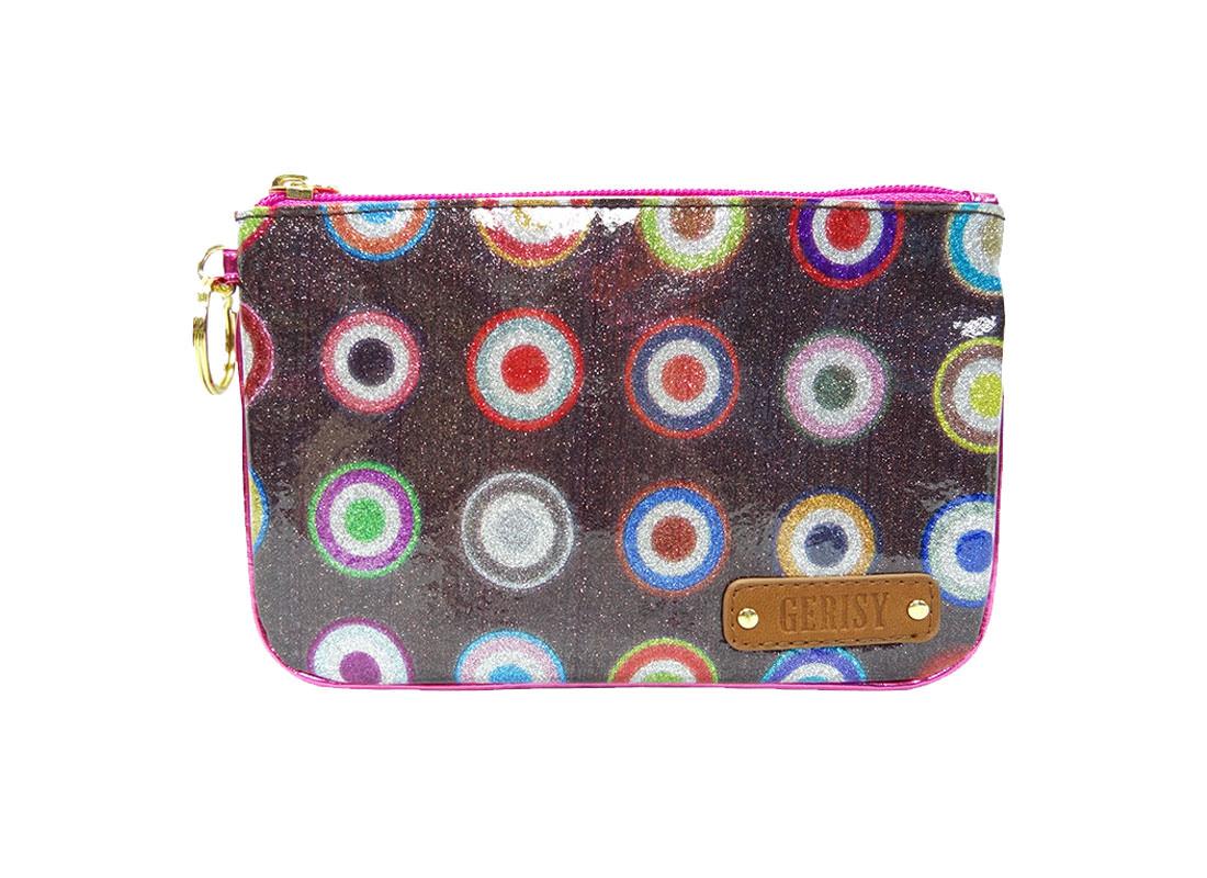Glitter Zipper Bag