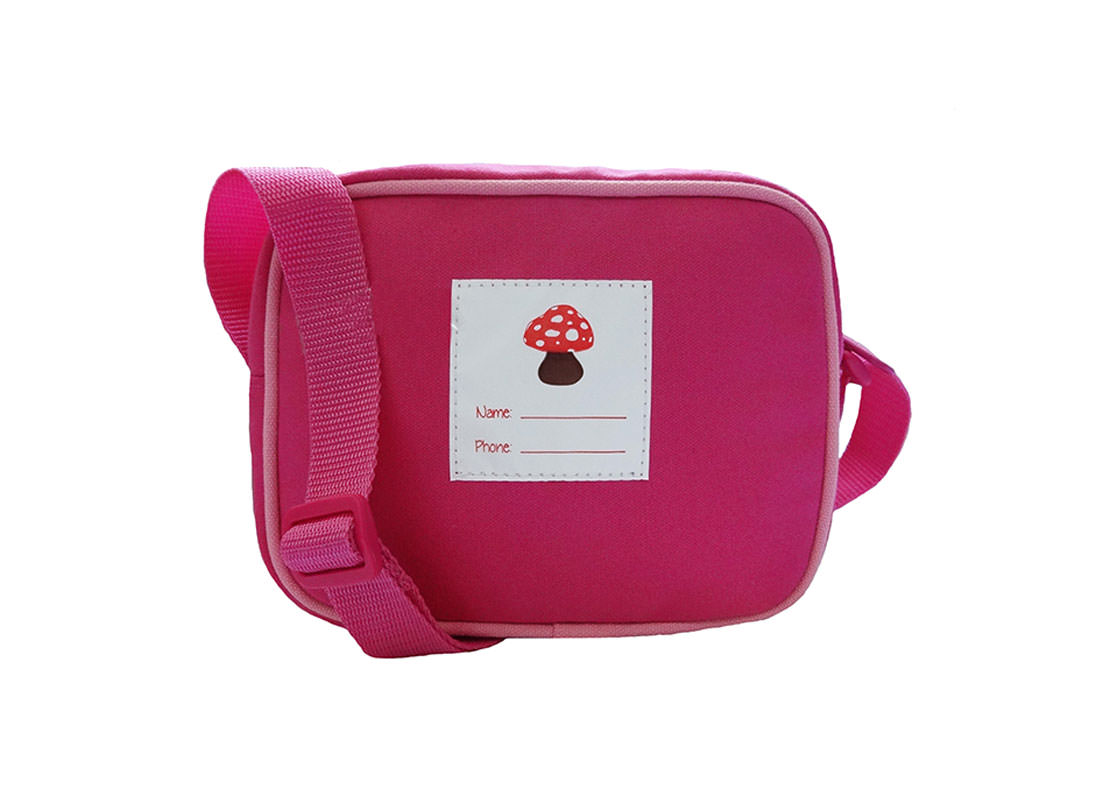 Mushroom House Shoulder Bag for Children Back