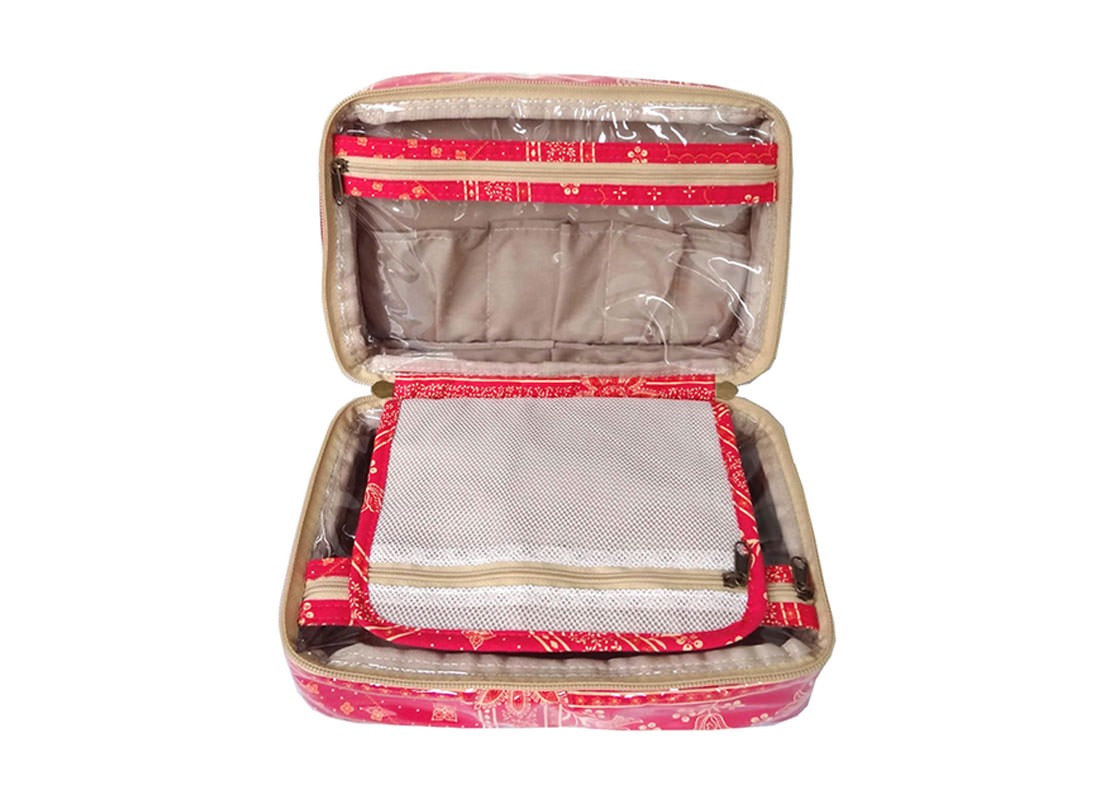 Organizer Makeup Bag Medium size open3