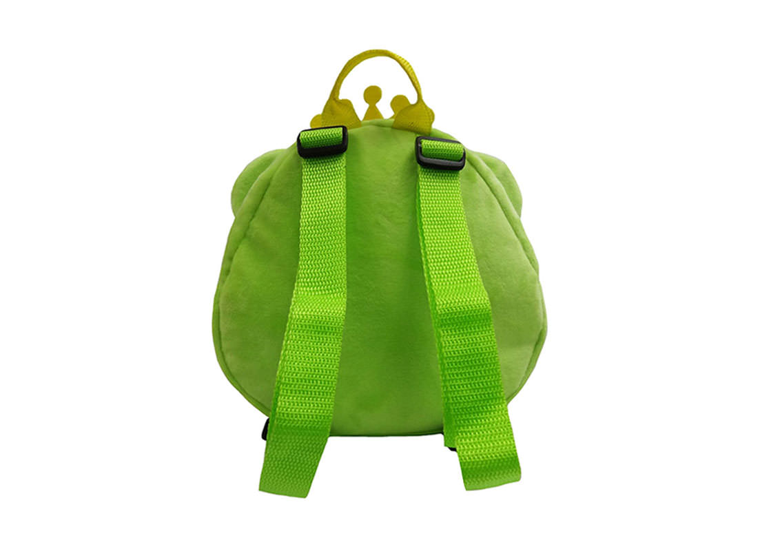 Prince Frog Backpack for Children Back