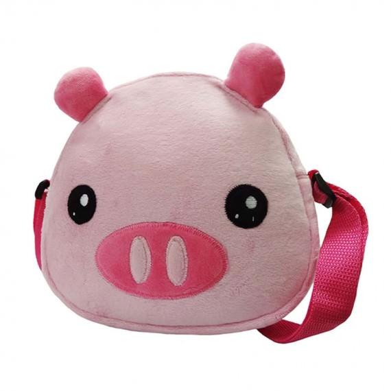 Pinky Piggy Shoulder Bag for Children
