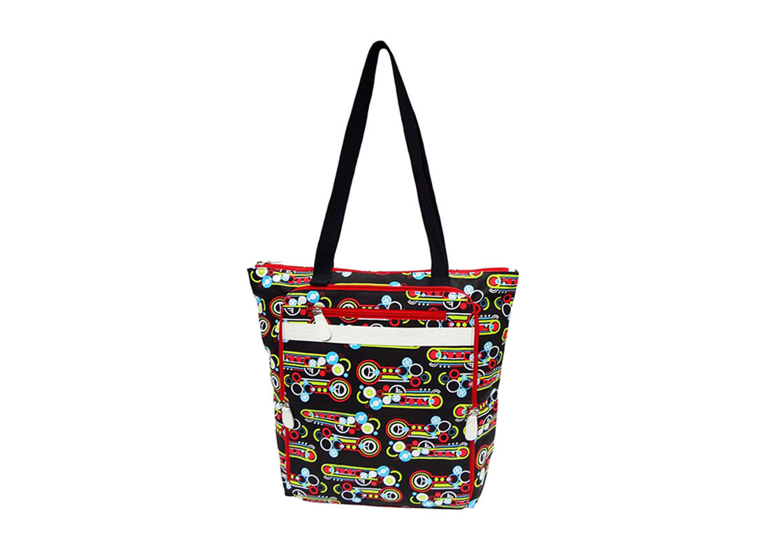 Foldable Canvas bag with all over printing