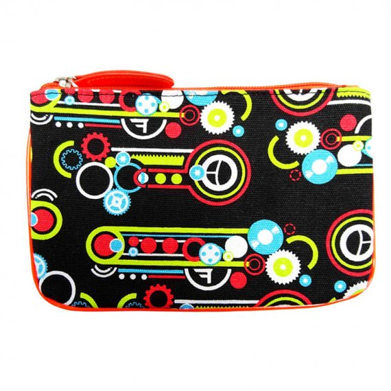 Canvas Pouch with All Over Printing