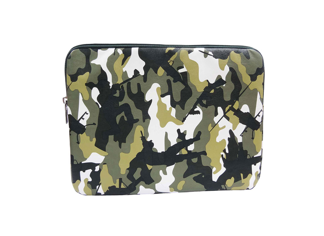 iPad Pouch with camouflage pattern