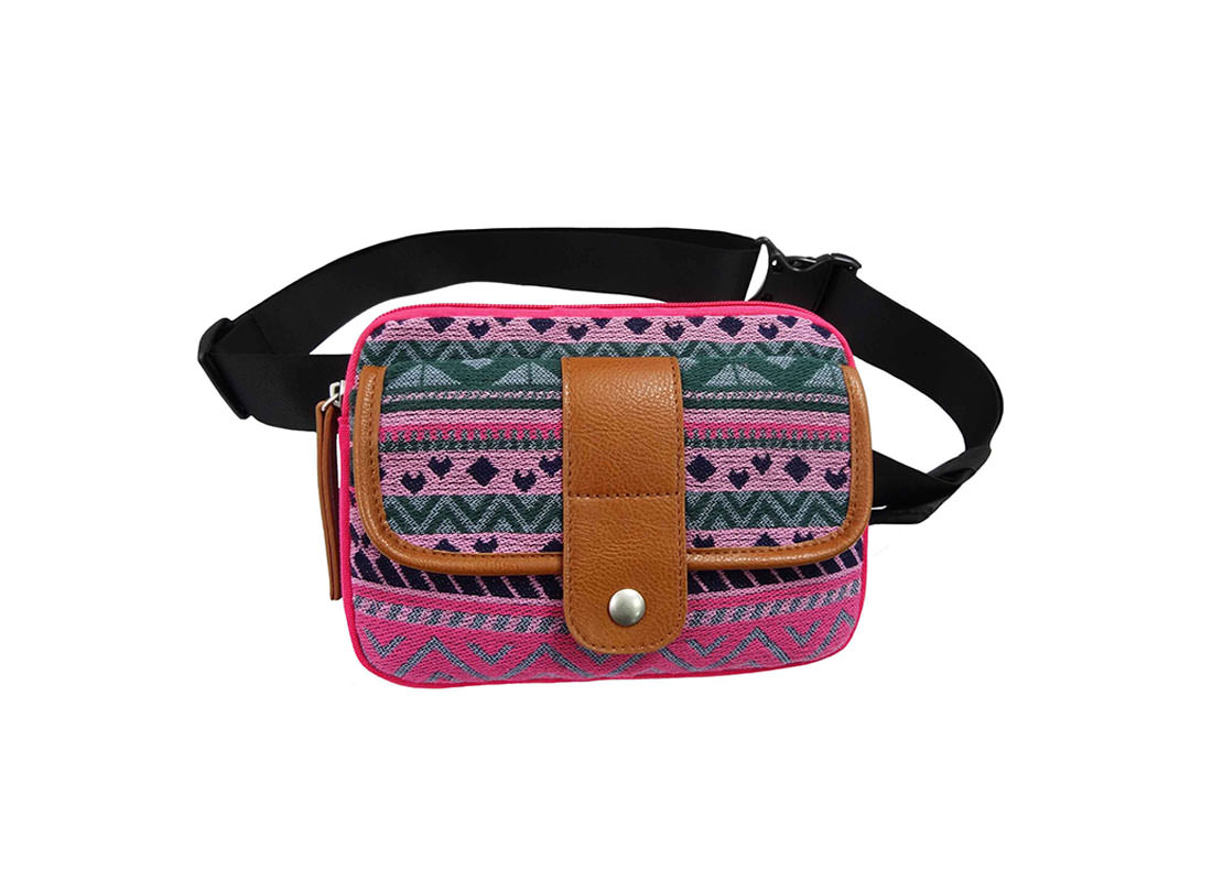 Cotton Waist Bag for Women