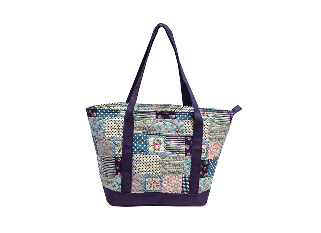 Quilted patchwork Tote