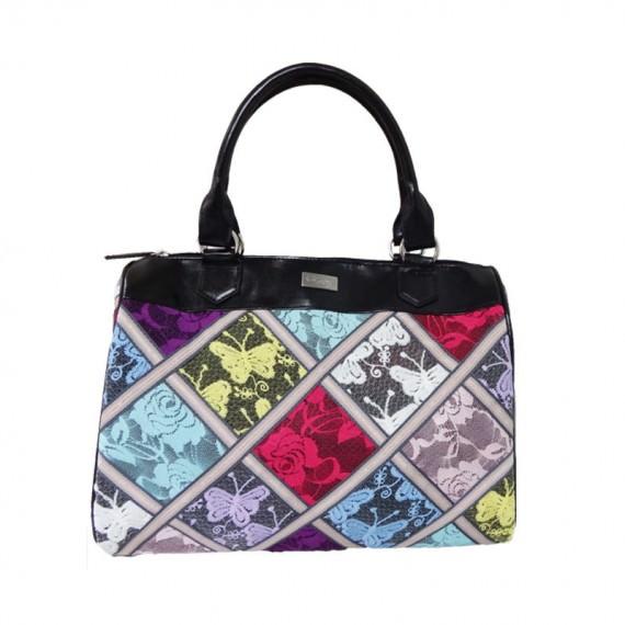 Lace Boston Bag