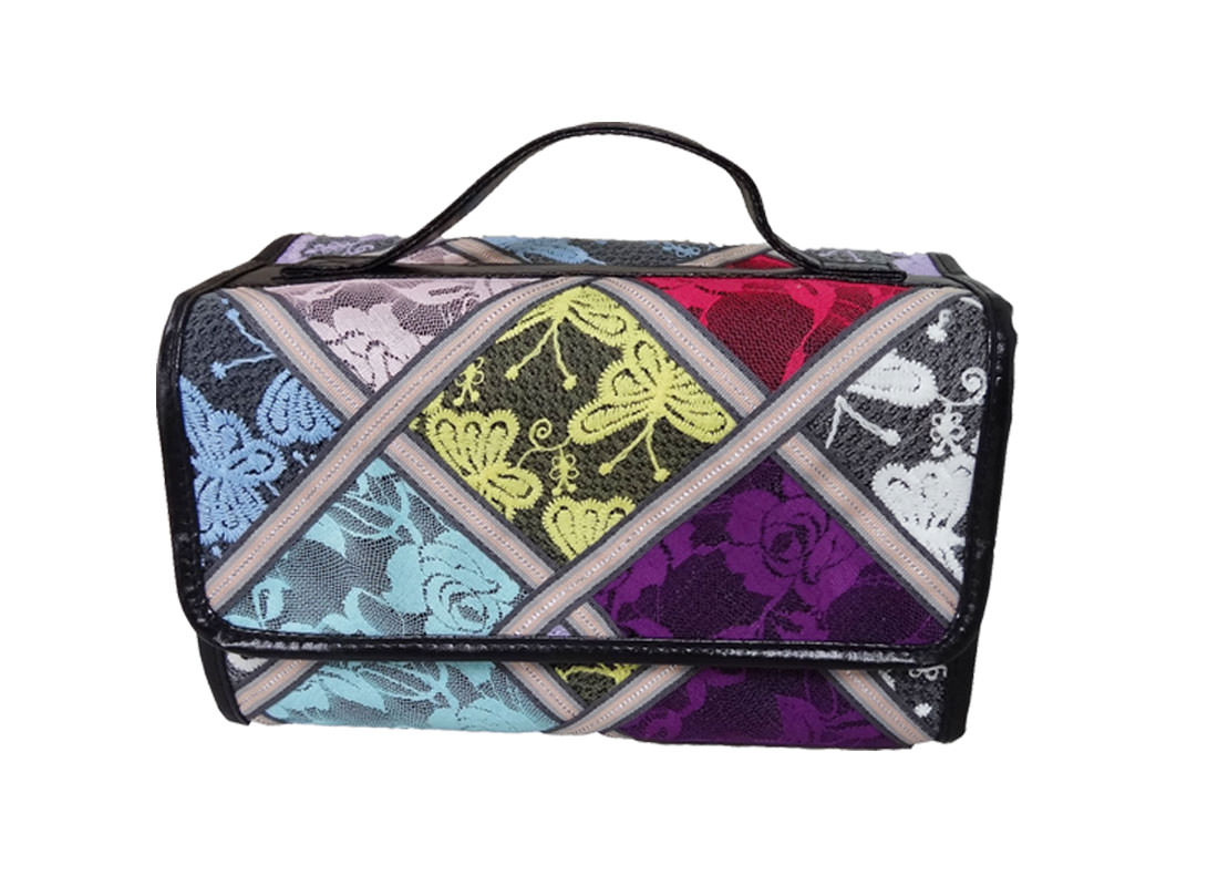 4 in 1 Cosmetic Bag with Lace cover