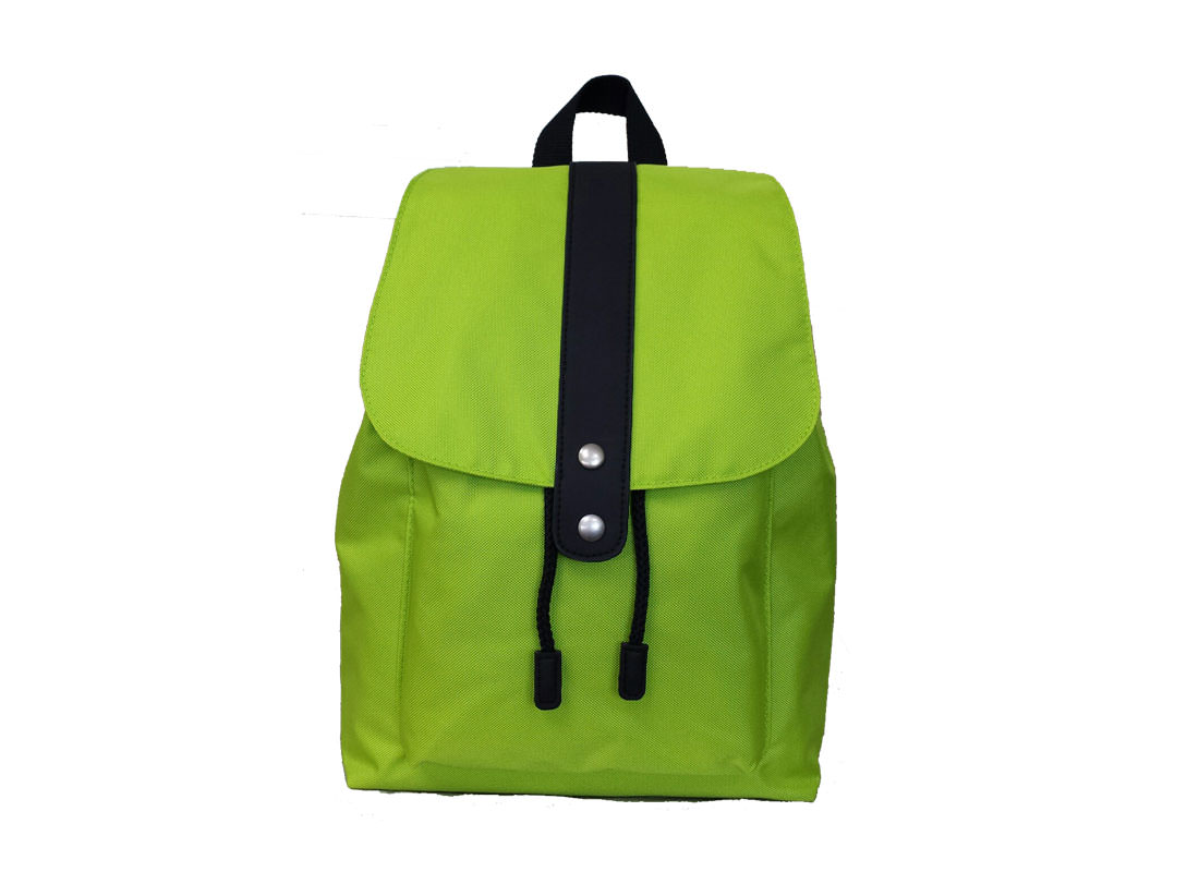 Green Backpack for Casual Use