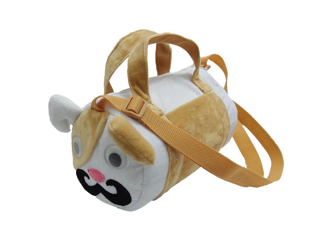Dog Shape Bag Duffel for Children Side