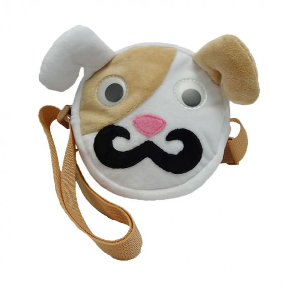 Dog Shape Shoulder Bag for Children