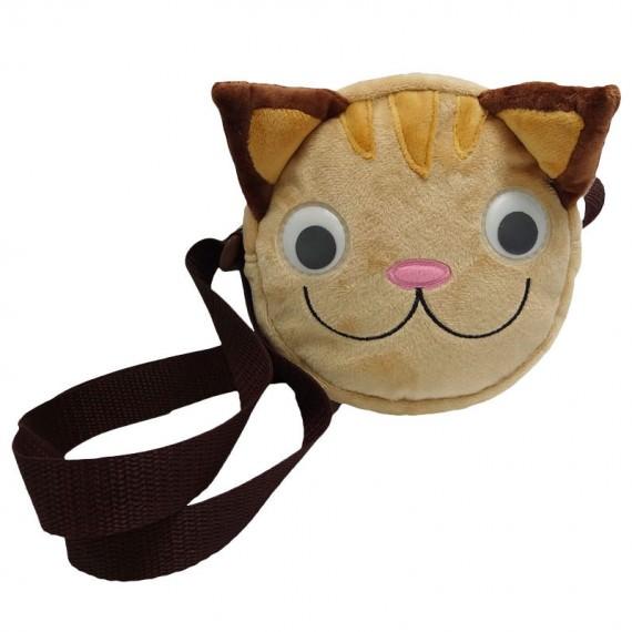 Cat Shape Shoulder Bag for Children
