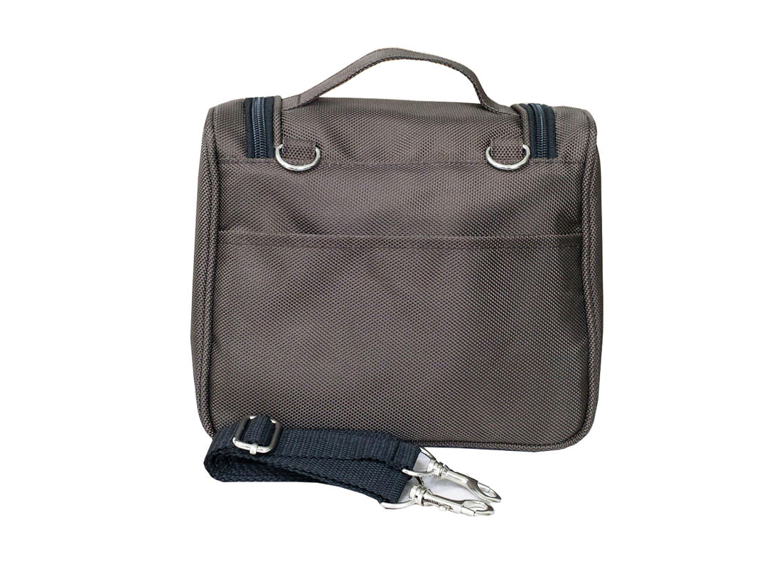 Stylish Lunch Bag In Brown Back