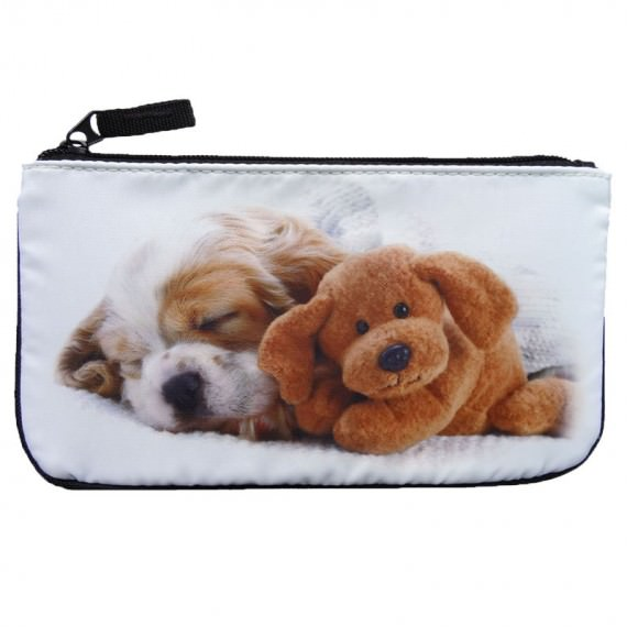 Sublimation Zipper Pouch with Dog Printing