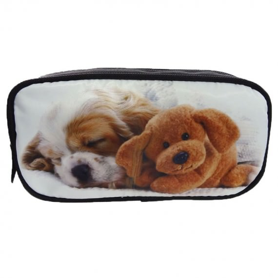 Sublimation Pencil Case with Dog Printing