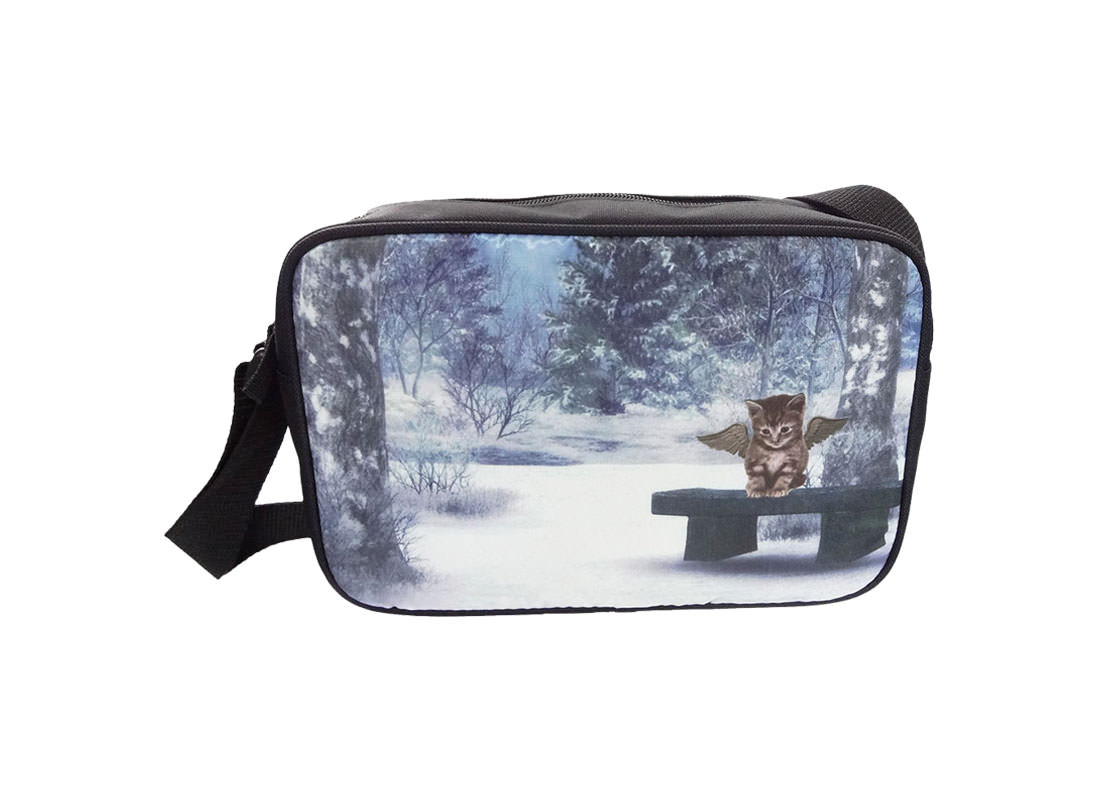 Sublimation Shoulder Bag with Cat printing