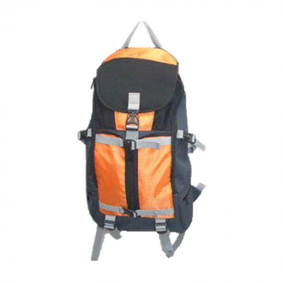 Outdoor Backpack in Orange & Black