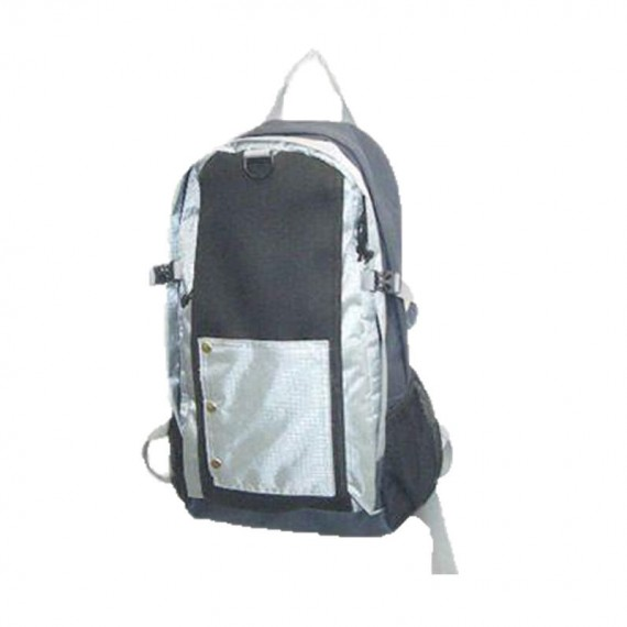 Black & Silver Backpack