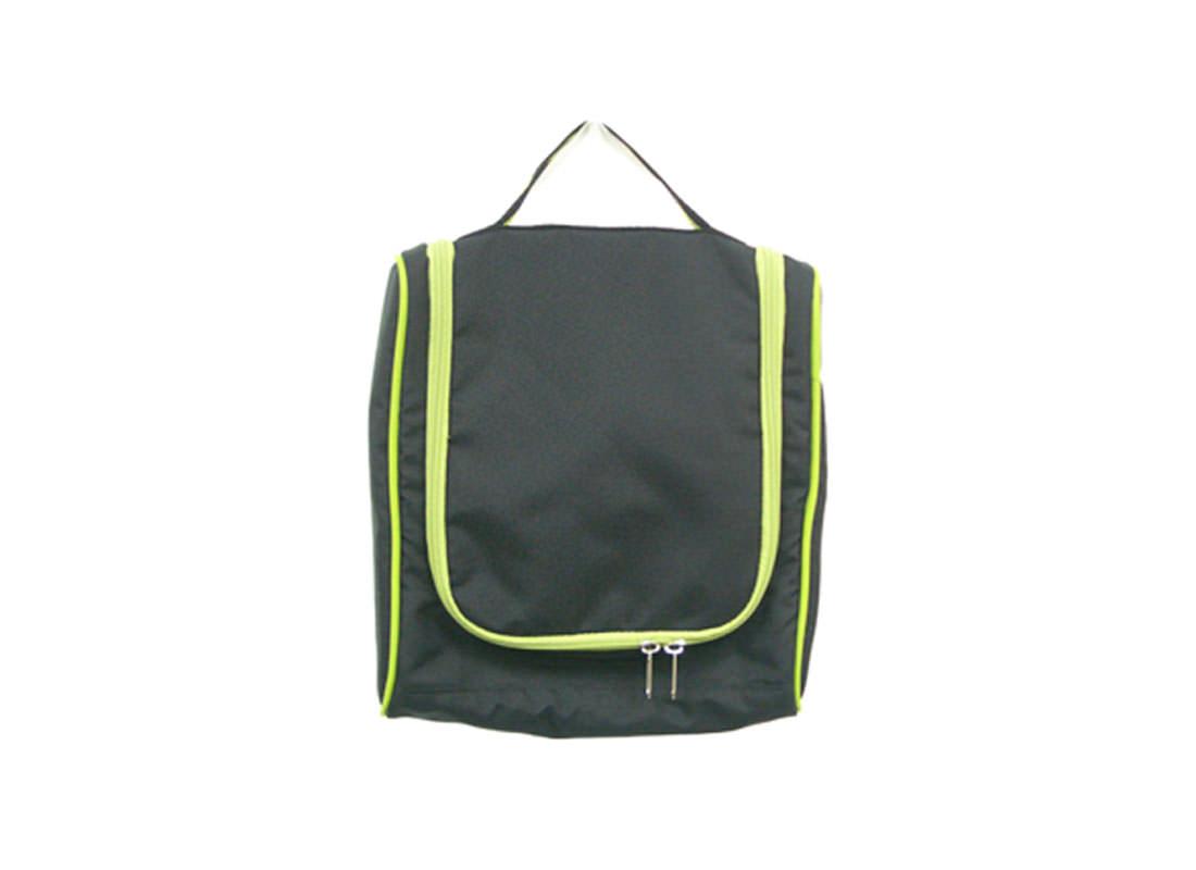 Hanging Toiletry Bag in Black
