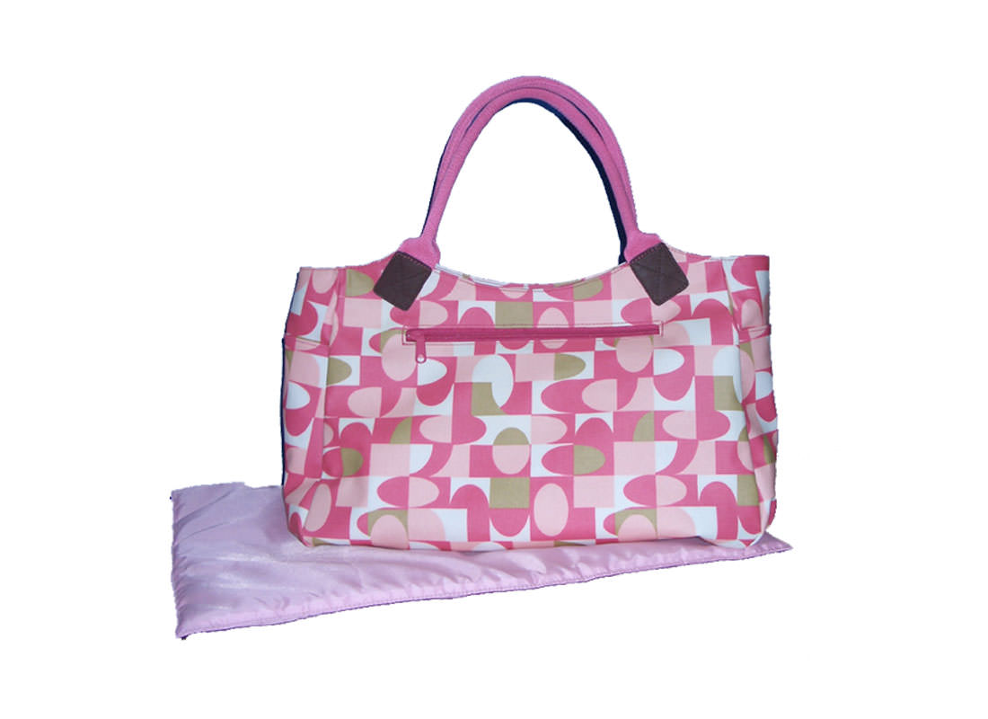 Canvas with Coating Mommy Bag