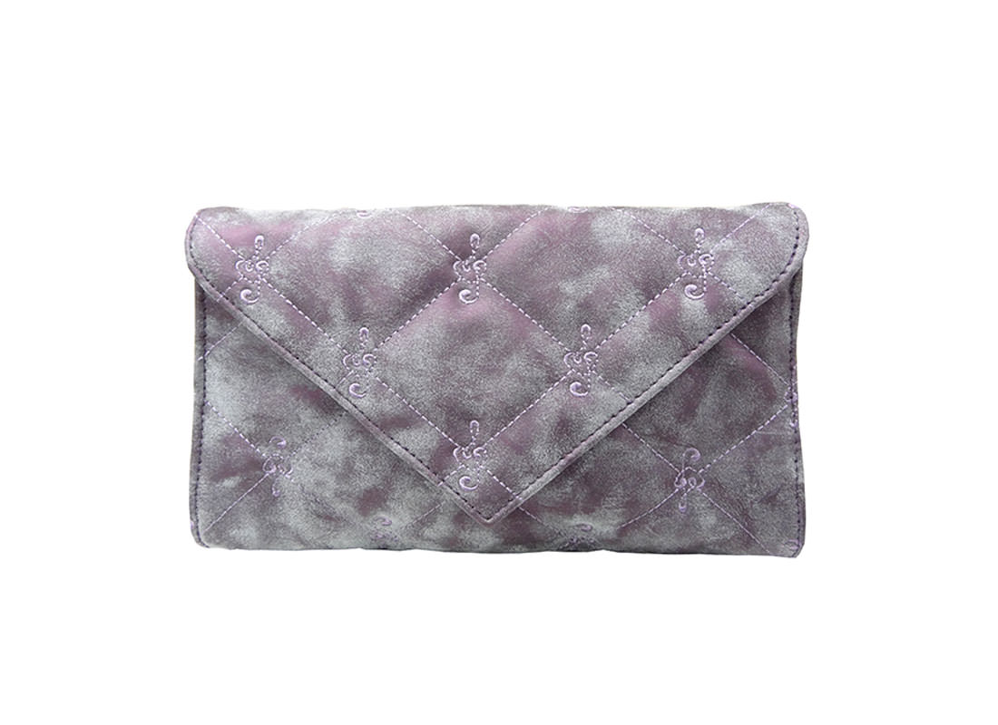 Envelope Pouch with Quilted Surface