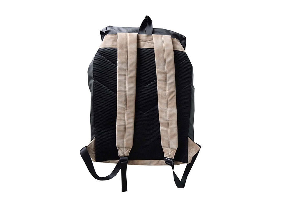 Large Backpack with Flap Closure back