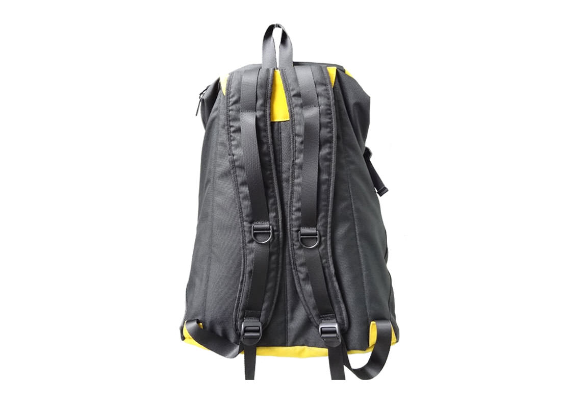 Top zipper Closure Backpack back