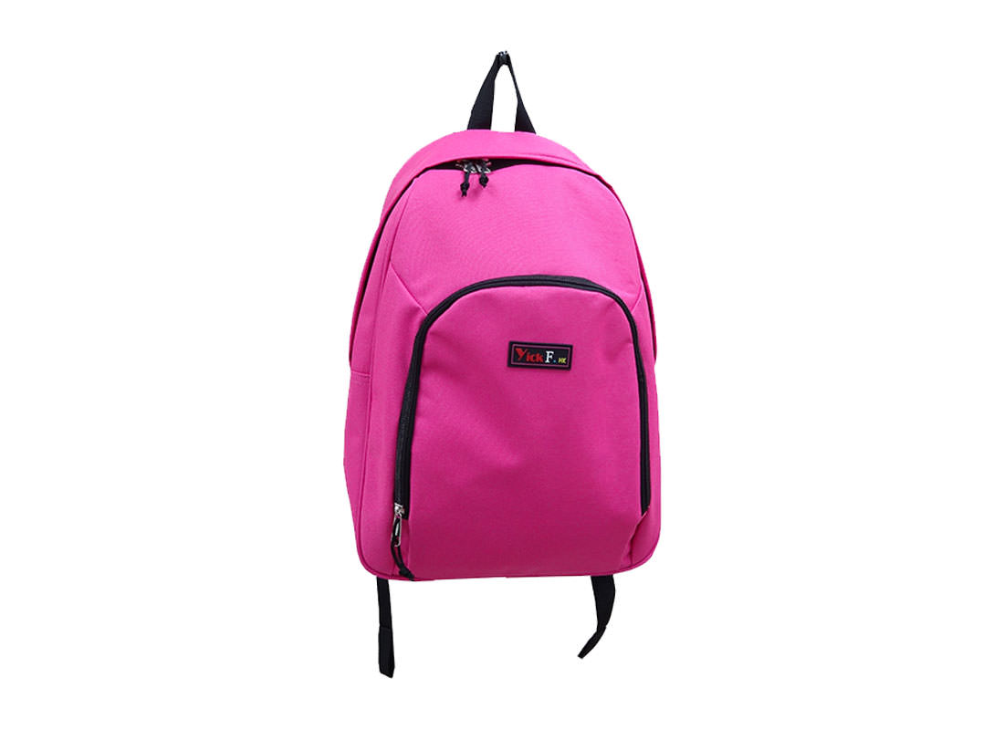 Pink casual backpack for women & girls