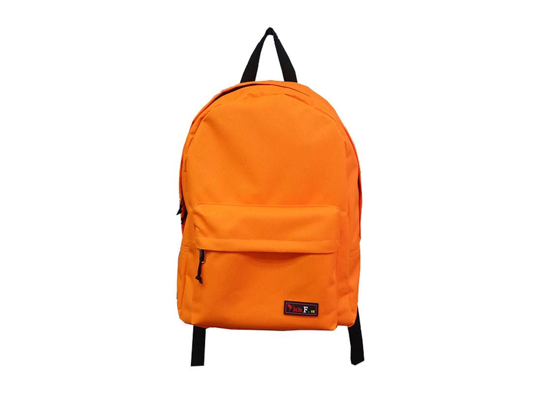Simple Backpack in Orange Color