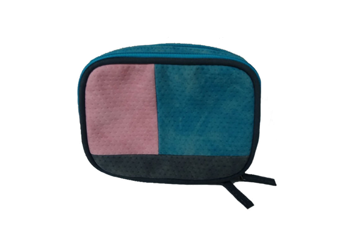 Two compartment Cosmetic Bag