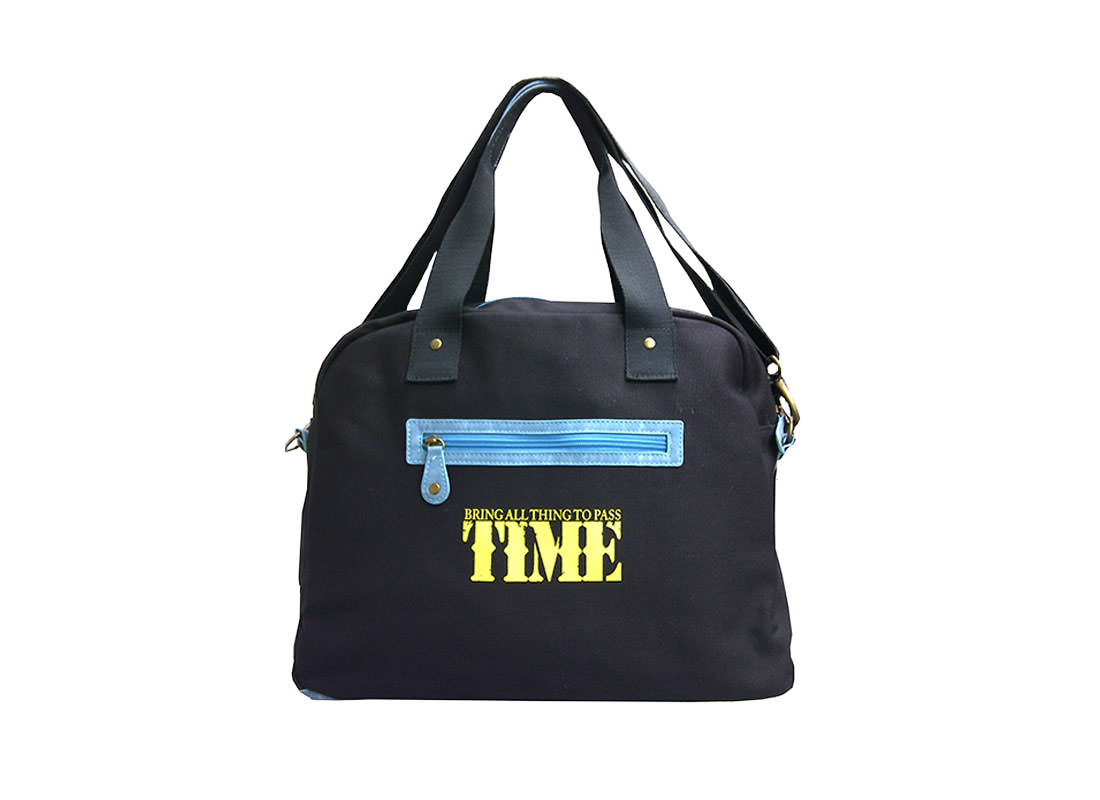 Canvas Bowling Bag with Car Printing Back