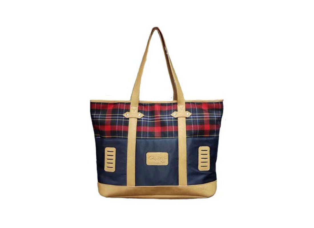 Plaid Tote Bag