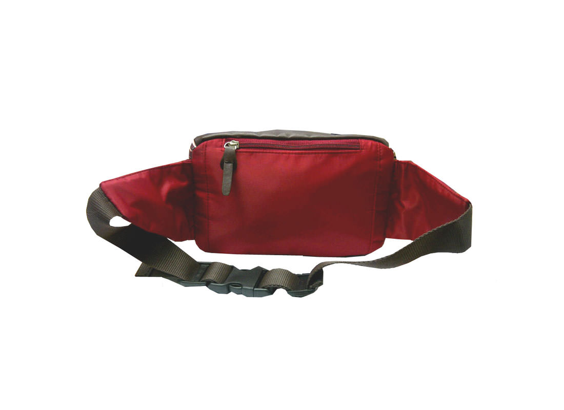 Plaid Waist Bag back