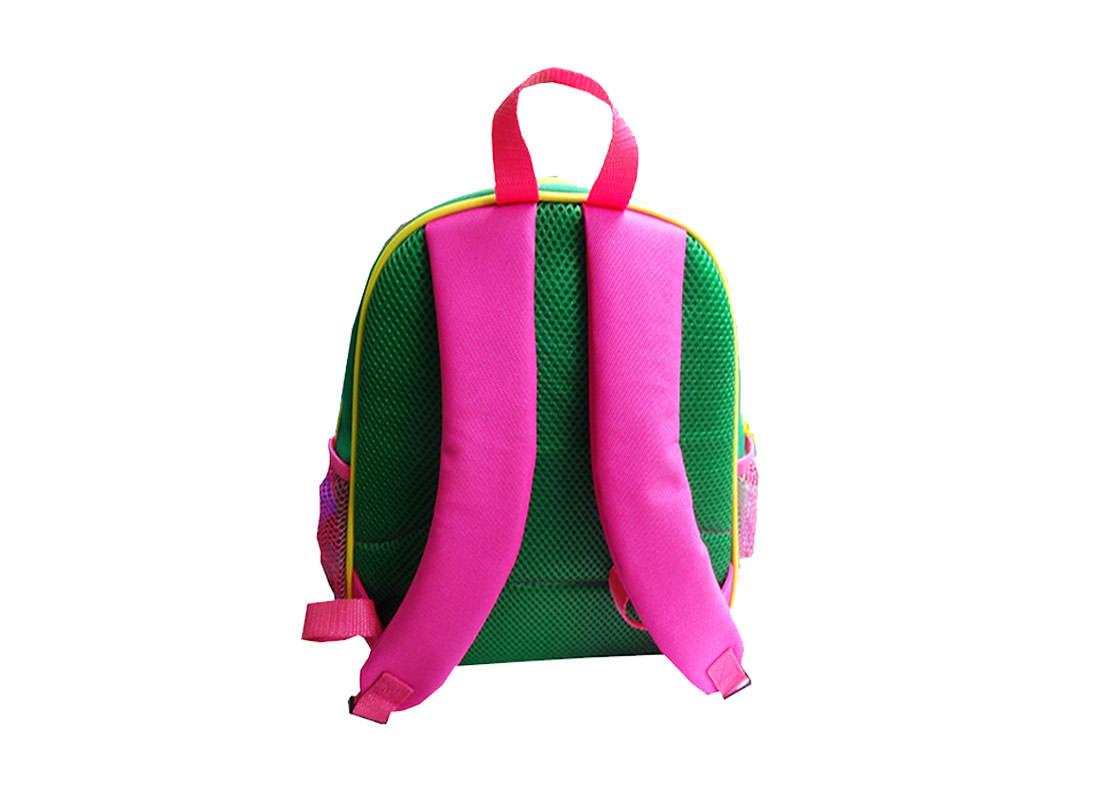 Owl Shaped Backpack for Children back