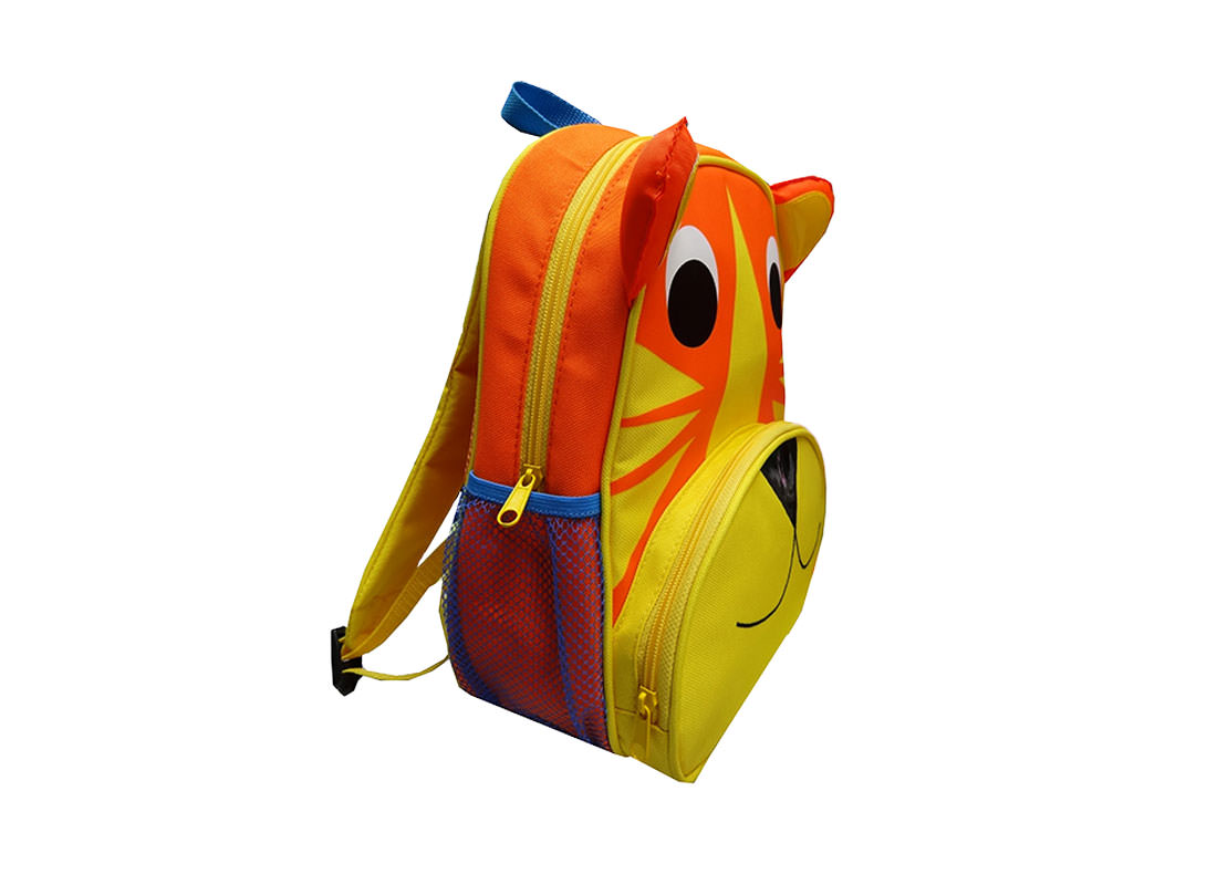 Tiger Backpack for Children Side